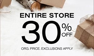 30% Off Entire Store